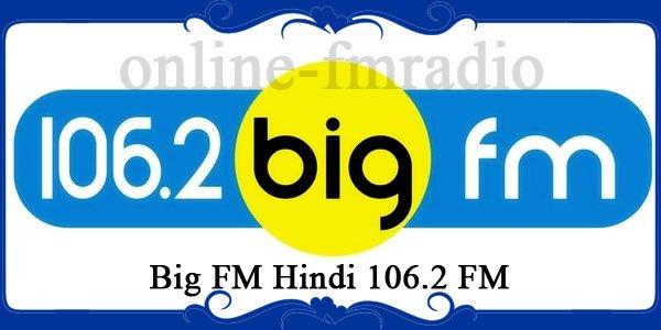 Big FM Hindi 106.2 FM