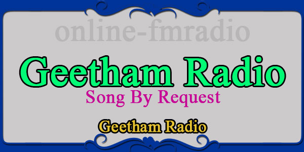 Geetham Radio Song By Request