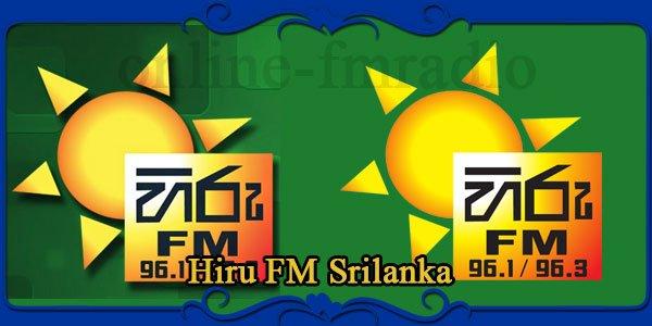 Hiru FM Srilanka