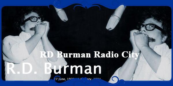 RD Burman Radio City
