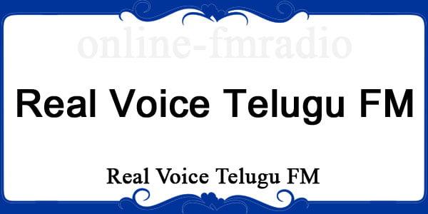 Real voice Telugu FM