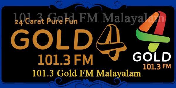 101.3 Gold FM Malayalam