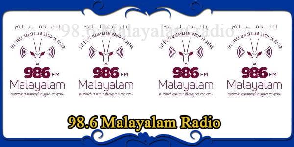 98.6 Malayalam Radio