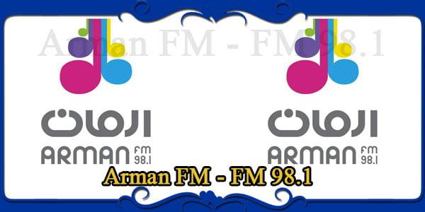 Arman FM - FM 98.1