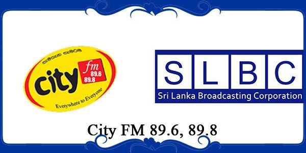 City FM 89.6, 89.8