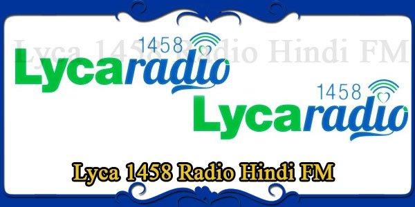 Lyca 1458 Radio Hindi FM