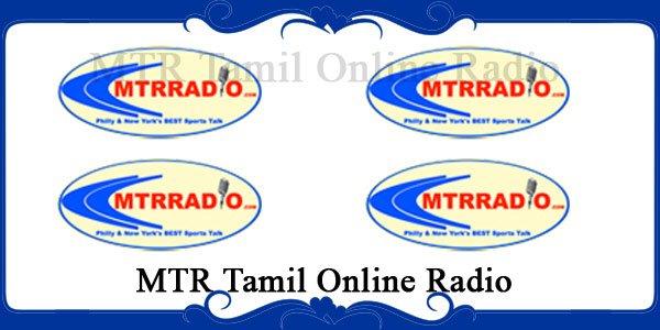 MTR Tamil Online Radio