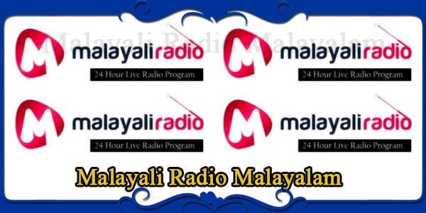 Malayali Radio Malayalam