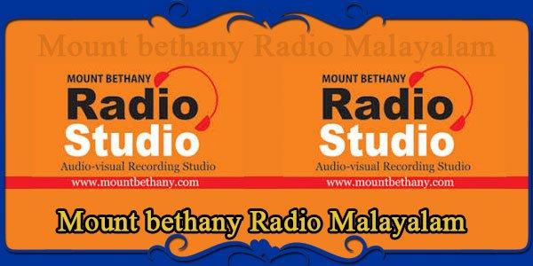 Mount bethany Radio Malayalam