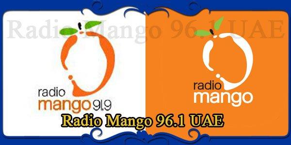 Radio Mango 96.1 UAE