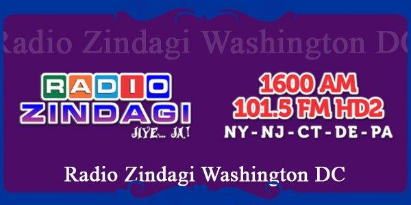Radio Zindagi Washington DC