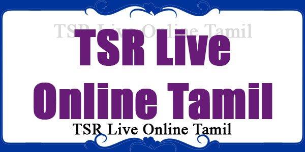 TSR Live Online Tamil