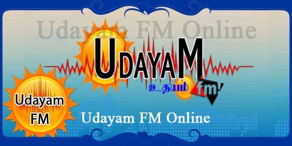Udayam FM Online