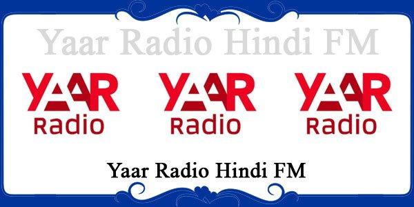 Yaar Radio Hindi FM