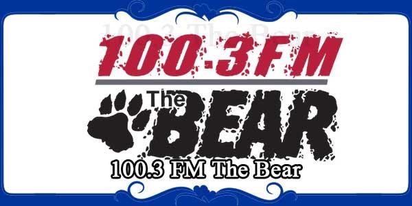 100.3 FM The Bear