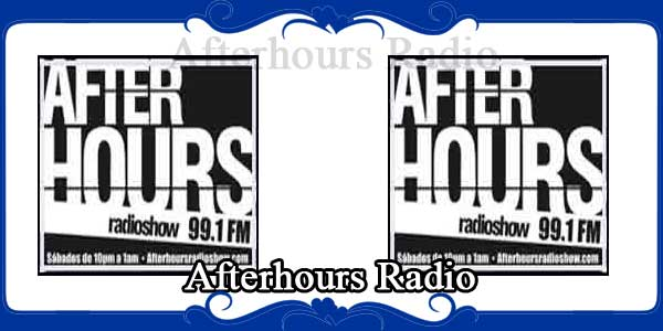 Afterhours Radio