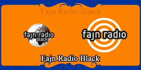 Fajn Radio Black