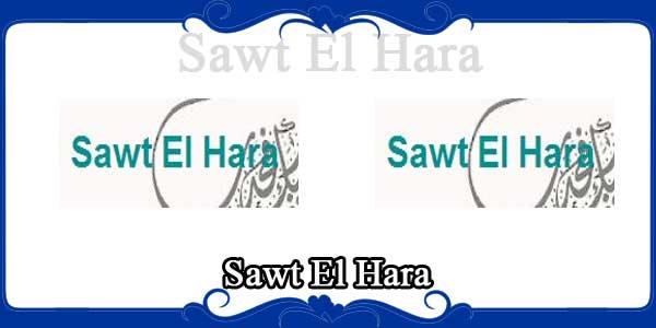 Sawt El Hara