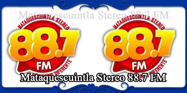Mataquescuintla Stereo 88.7 FM