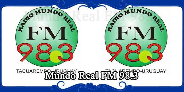 Mundo Real FM 98.3 Mhz