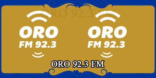 ORO 92.3 FM