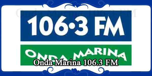 Onda Marina 106.3 FM
