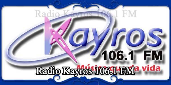 Radio Kayros 106.1 FM