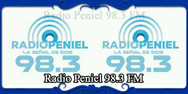Radio Peniel 98.3 FM