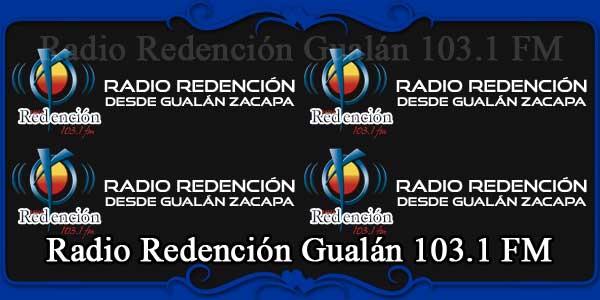 Radio Redención Gualán 103.1 FM