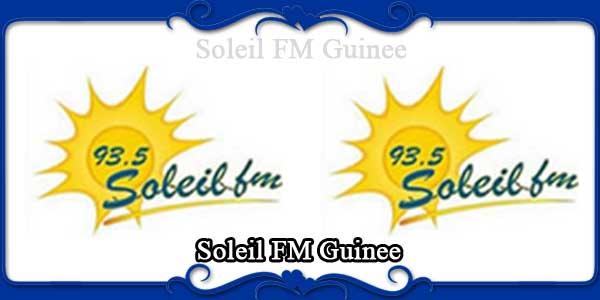 Soleil FM Guinee