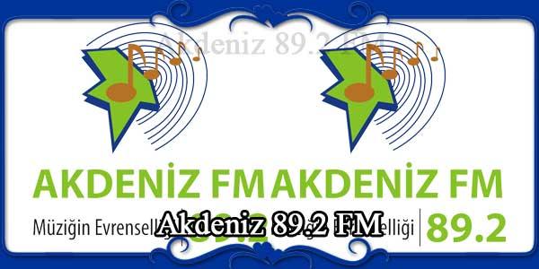 Akdeniz 89.2 FM