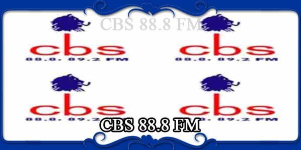 CBS 88.8 FM