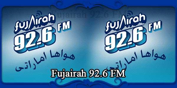 Fujairah 92.6 FM
