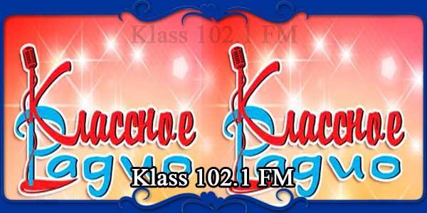 Klass 102.1 FM