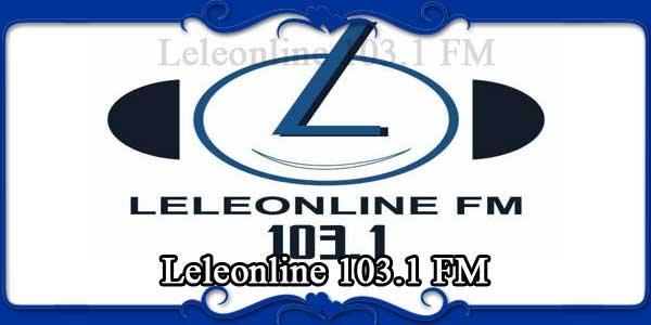 Leleonline 103.1 FM