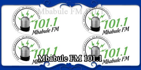 Mbabule FM 101.1