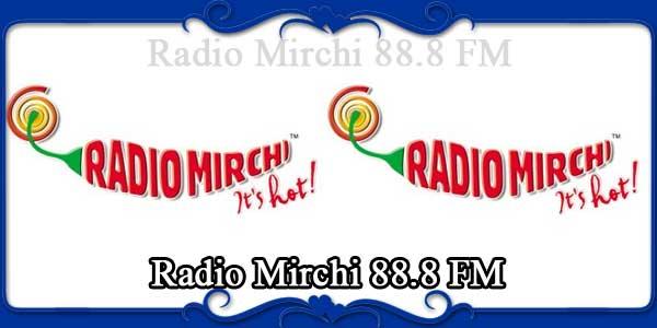 Radio Mirchi 88.8 FM