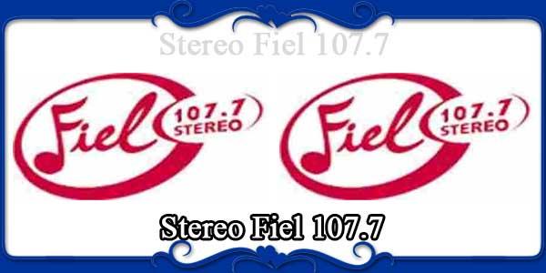 Stereo Fiel 107.7