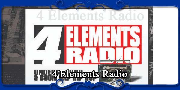 4 Elements Radio