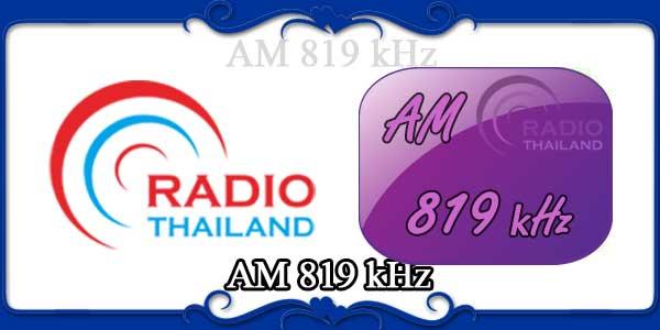 AM 819 kHz