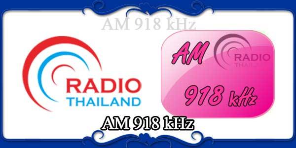 AM 918 kHz