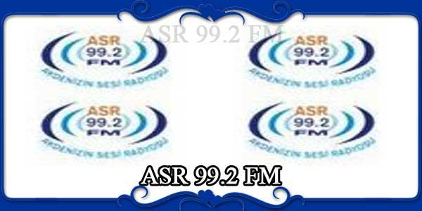 ASR 99.2 FM
