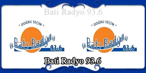 Bati Radyo 93.6