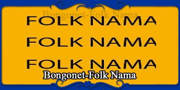 Bongonet-Folk Nama