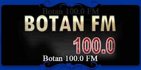 Botan 100.0 FM