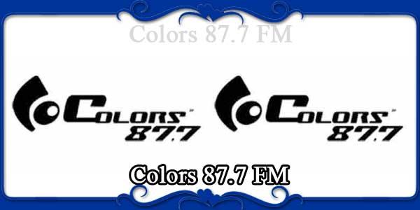Colors 87.7 FM