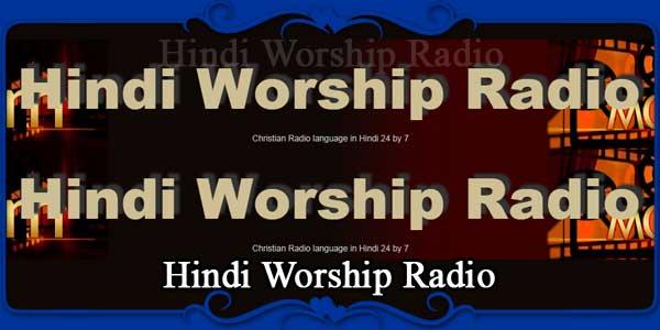 Hindi Worship Radio