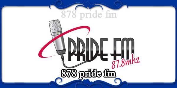 878 pride fm