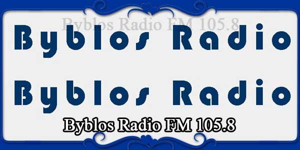 Byblos Radio FM 105.8