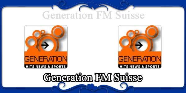Generation FM Suisse
